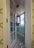 10-15万110平米三室一厅田园风格厨房图片