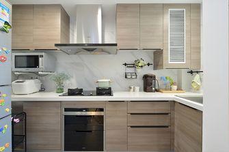 120平米现代简约风格厨房装修图片大全