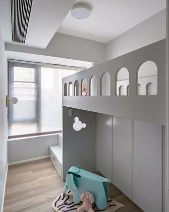 100平米三混搭风格青少年房设计图