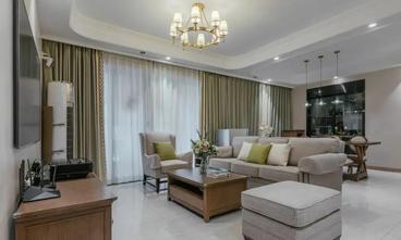 20万以上120平米三室一厅美式风格客厅效果图
