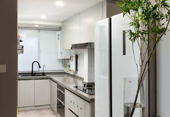 经济型90平米三室两厅现代简约风格厨房图片