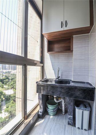 豪华型120平米三室一厅现代简约风格阳台效果图