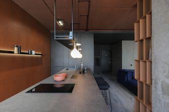 经济型70平米公寓现代简约风格厨房欣赏图