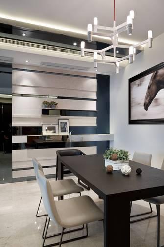 20万以上120平米三室一厅北欧风格餐厅装修案例