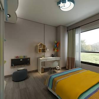 豪华型140平米四室一厅北欧风格卧室装修效果图