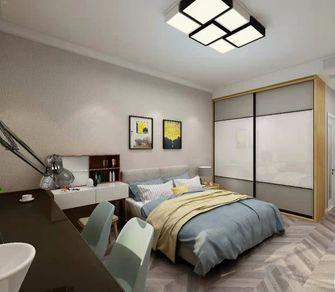 10-15万120平米三室一厅现代简约风格卧室设计图