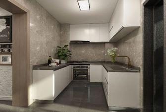 经济型130平米三室一厅轻奢风格厨房设计图