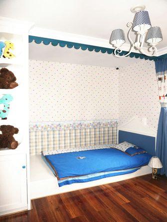 富裕型120平米三室两厅地中海风格青少年房装修图片大全