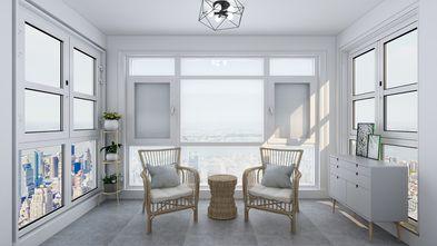 130平米四室两厅日式风格阳台欣赏图