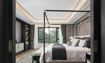 140平米别墅英伦风格卧室装修案例