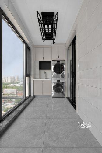 130平米四室两厅现代简约风格阳台效果图