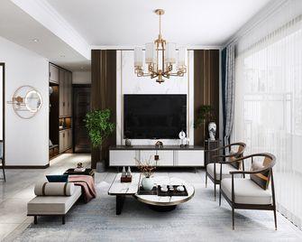 120平米三室三厅中式风格客厅设计图