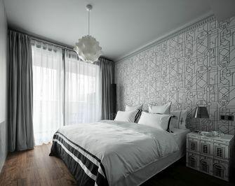 5-10万70平米三室两厅英伦风格卧室设计图