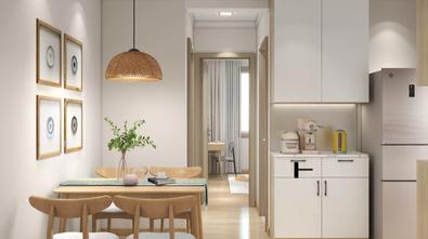 经济型60平米公寓日式风格餐厅装修效果图