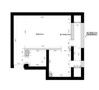 经济型30平米小户型中式风格客厅设计图