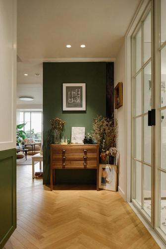 经济型100平米三室两厅美式风格玄关图片