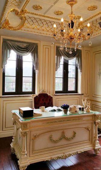 豪华型140平米法式风格书房装修案例