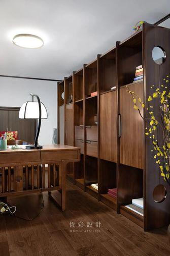 20万以上120平米三室两厅中式风格书房装修案例