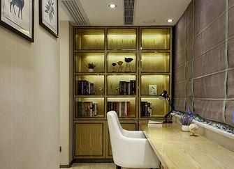 豪华型140平米四室两厅现代简约风格书房图片