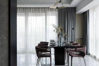 富裕型140平米四室四厅现代简约风格餐厅设计图