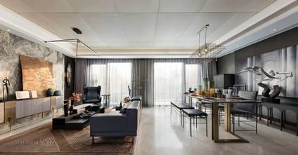 10-15万120平米复式混搭风格客厅装修图片大全