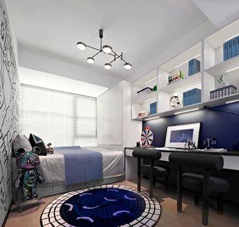 10-15万80平米三室三厅轻奢风格青少年房欣赏图