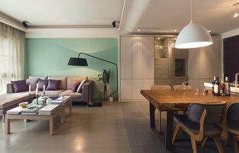 90平米三北欧风格客厅图片