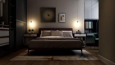 富裕型90平米三室三厅现代简约风格卧室效果图