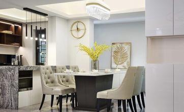 20万以上130平米三室两厅轻奢风格餐厅装修案例