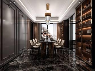 豪华型140平米三室两厅法式风格餐厅装修案例