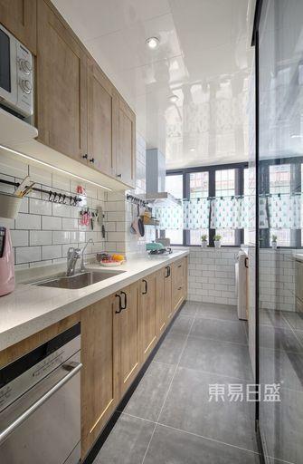 100平米三北欧风格厨房装修案例