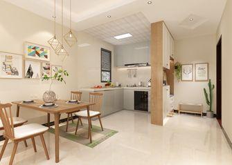 80平米三室两厅北欧风格餐厅装修图片大全