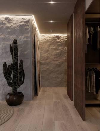 15-20万70平米公寓工业风风格走廊设计图