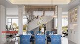 豪华型140平米别墅美式风格餐厅装修图片大全