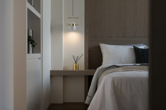 5-10万30平米小户型中式风格卧室欣赏图
