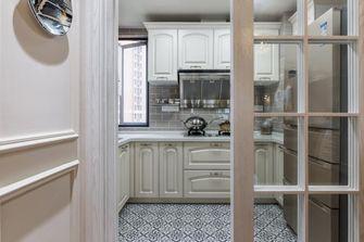 富裕型130平米三室两厅美式风格厨房图片