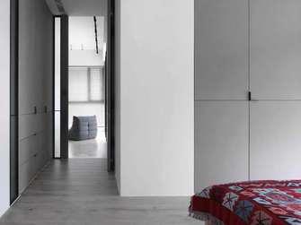 经济型120平米一室两厅现代简约风格卧室装修图片大全