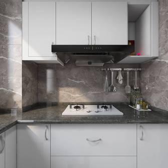 豪华型120平米三室一厅北欧风格厨房设计图