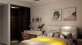 15-20万100平米三室两厅现代简约风格卧室效果图