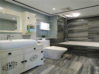 富裕型90平米三室一厅中式风格卫生间欣赏图