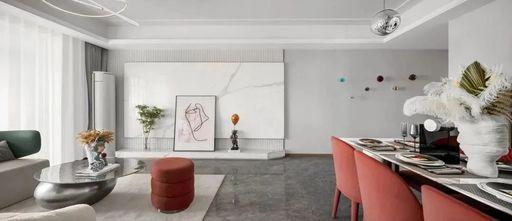 经济型140平米轻奢风格客厅设计图
