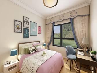 20万以上140平米三室三厅法式风格卧室欣赏图
