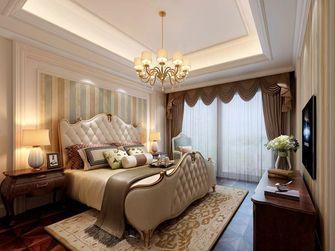 130平米三室一厅美式风格卧室设计图