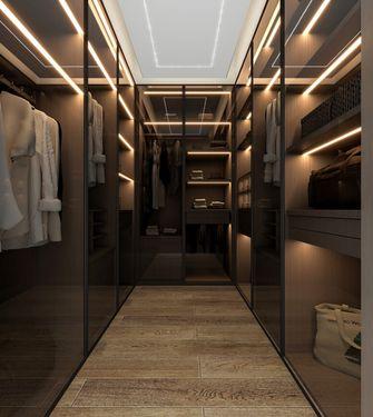 10-15万120平米三室两厅轻奢风格衣帽间设计图