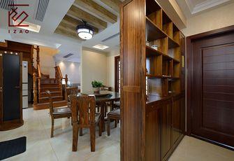 富裕型140平米四室两厅中式风格餐厅图片大全