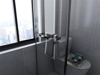 5-10万80平米三室两厅现代简约风格卫生间装修图片大全