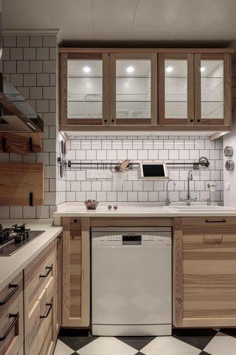 经济型100平米三室一厅混搭风格厨房欣赏图