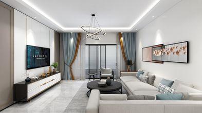 90平米三英伦风格客厅装修案例