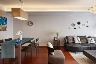 三美式风格客厅图