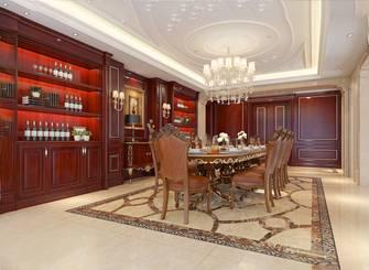 3万以下140平米别墅欧式风格餐厅图片
